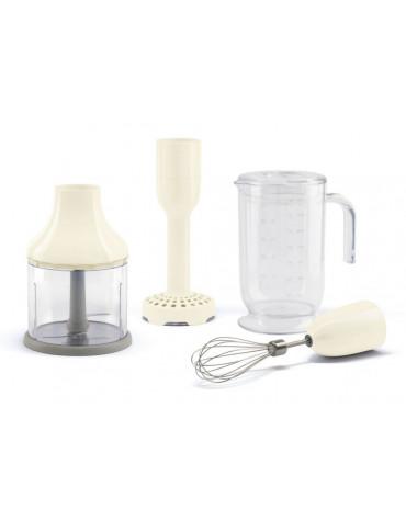 smeg Pack accessoires pour mixeur plongeant blanc smeg