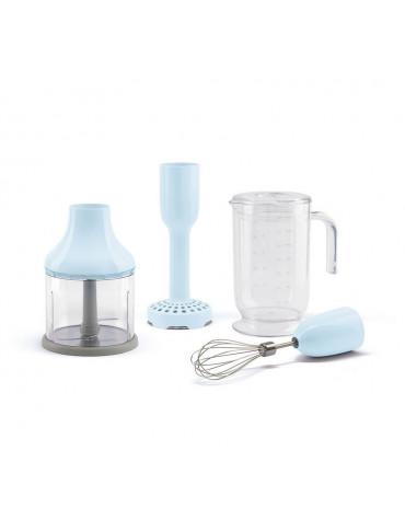 smeg Pack accessoires pour mixeur plongeant bleu smeg