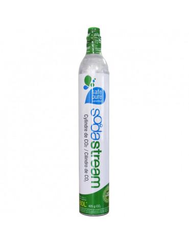 sodastream Cylindre de recharge de gaz co2 60l pour machine à gazéifier sodastream