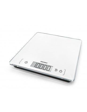 Balance de cuisine électronique 10kg-1g blanc