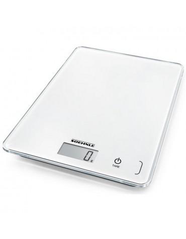 Balance de cuisine électronique 5kg - 1g blanche