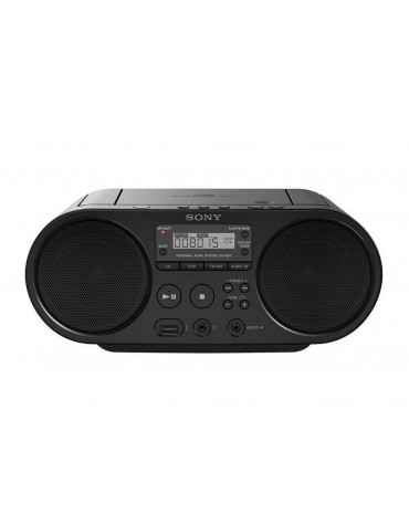 Radio cd usb portable noir