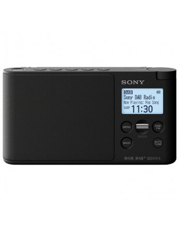 Radio portable noir anthracite