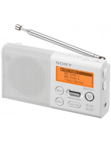 Radio portable numérique blanc