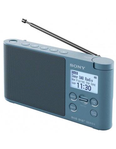Radio portable numérique bleu