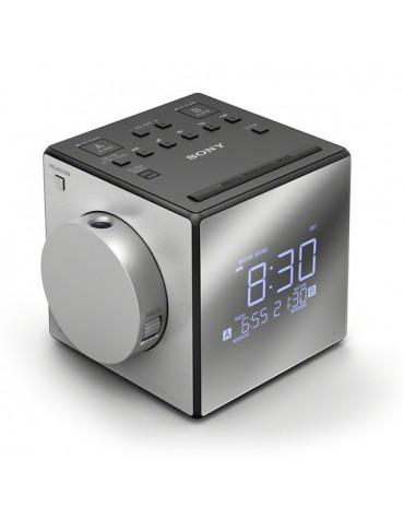 Radio réveil avec la projection de l'heure + usb