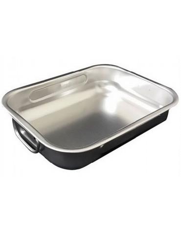 steel pan Plat à four inox 25x19cm steel pan