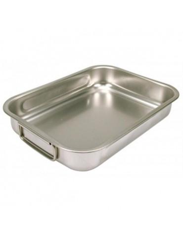 steel pan Plat à four inox 35x26cm steel pan
