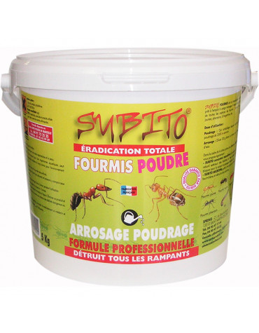 subito Anti-fourmis en poudre 5kg subito