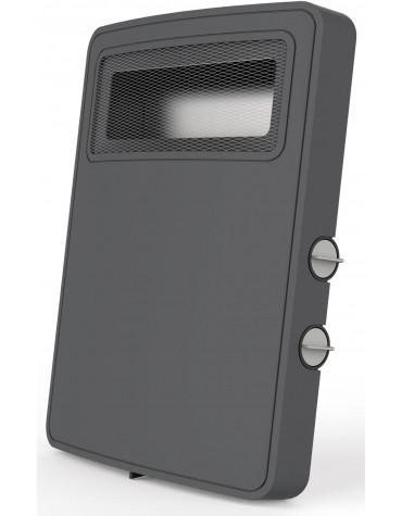 Chauffage soufflant 2000w gris