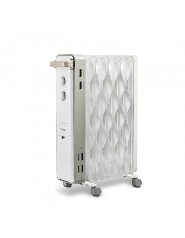 Radiateur à bain d'huile 1500w blanc
