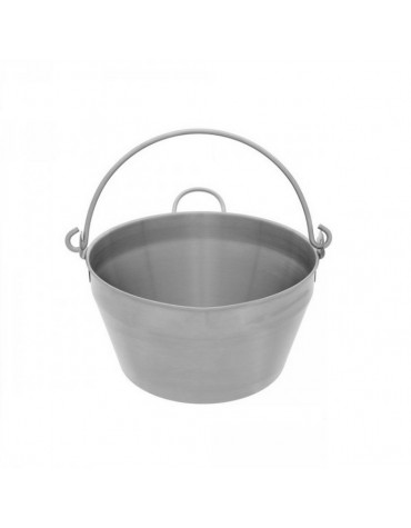 Bassine à confiture inox 12l