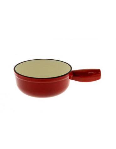 Poêlon en fonte 18cm rouge