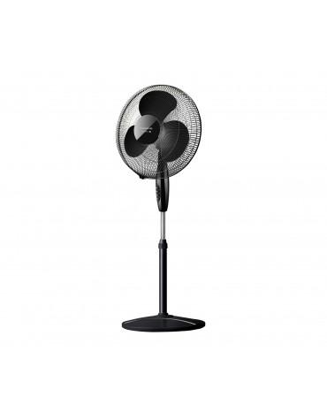 Ventilateur sur pied 40cm 40w noir