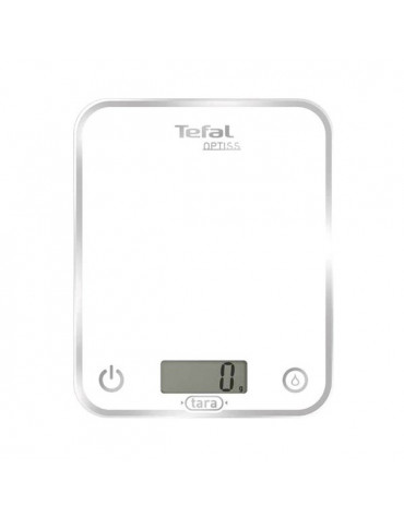 tefal Balance de cuisine electronique 5kg - 1g blanc tefal