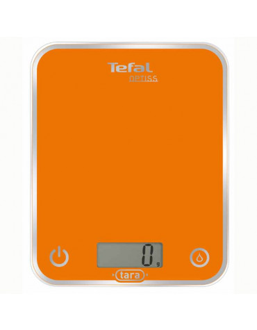 tefal Balance de cuisine electronique 5kg - 1g orange tefal