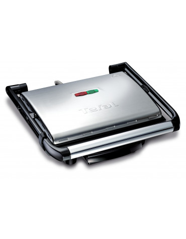 Grill panini multifonctions 2000w noir/inox