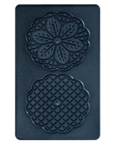 tefal Plaques 2 bricelets + livre pour gaufrier tefal