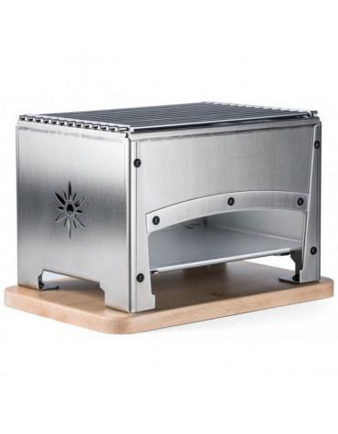 Barbecue de table à charbon 33x22cm