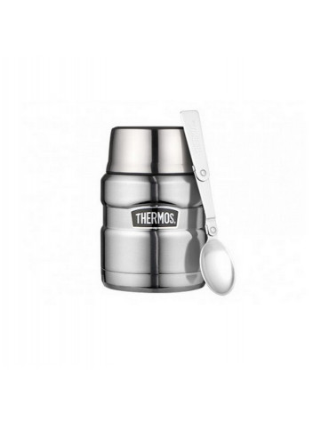 thermos Boîte alimentaire isotherme 0.45l argenté thermos