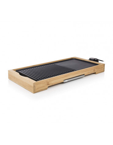 Plancha gril électrique 2200w 51x25,4cm