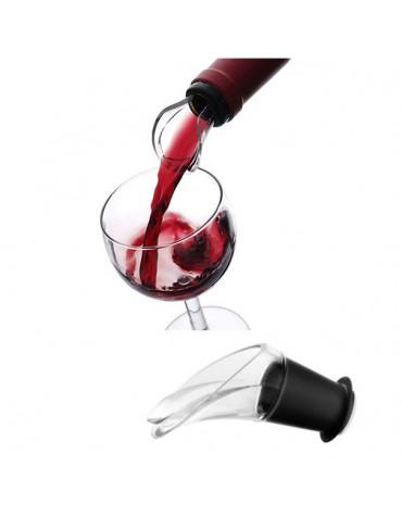 vacu vin Lot de 2 bouchons verseurs anti-goutte vacu vin