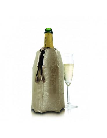 vacu vin Rafraichisseur champagne platinum doré vacu vin
