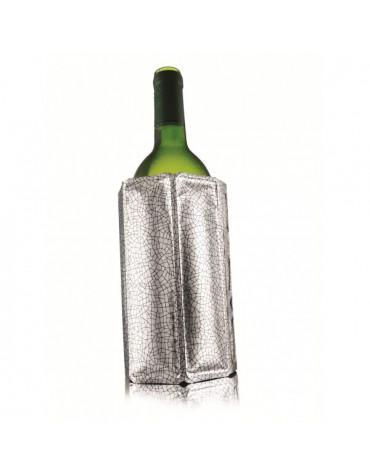 vacu vin Refroidisseur décor argenté vacu vin