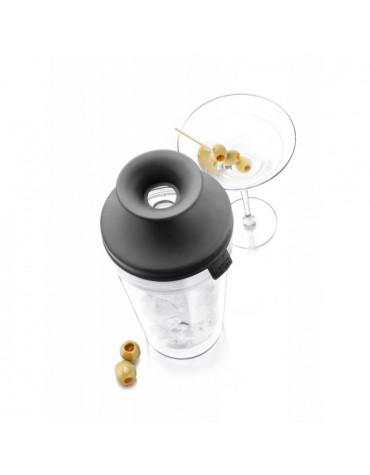 vacu vin Shaker cocktail verre et silicone 0.35l vacu vin