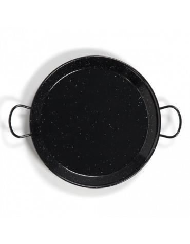 Plat à paella émaillé 40cm pour 9 personnes