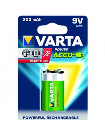 varta Pile alcaline type lr61 9 volts rechargeable varta