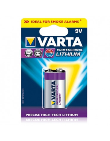 varta Pile lithium type hr9 9 volts varta