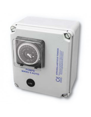 Coffret electrique pour filtration