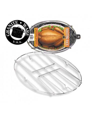 Grille en acier nickelé pour cocotte 33cm