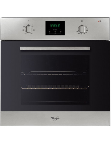 whirlpool Four intégrable multifonction 60l 60cm a inox whirlpool