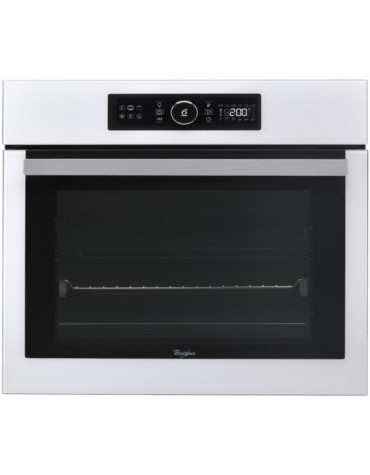 whirlpool Four intégrable multifonction 73l 60cm a+ pyrolyse inox whirlpool