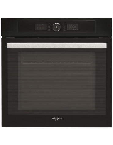 whirlpool Four intégrable multifonction 73l 60cm a+ pyrolyse noir whirlpool