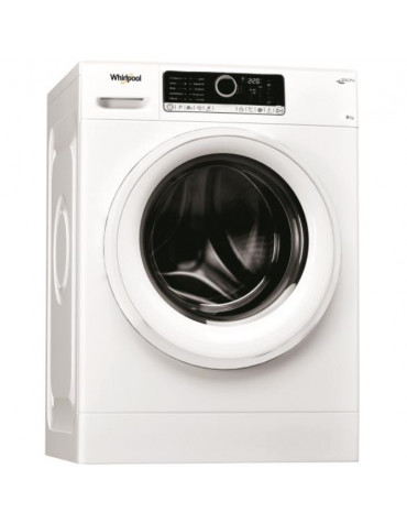 whirlpool Lave-linge frontal 60cm 8kg 1400t a+++ blanc whirlpool