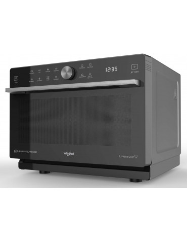whirlpool Micro-ondes combiné 33l 1000w noir whirlpool