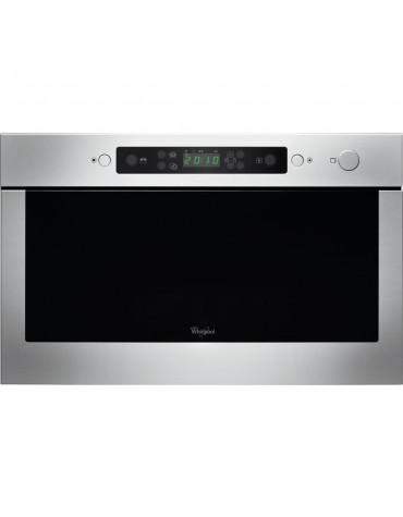 whirlpool Micro-ondes encastrable 22l 750w inox whirlpool
