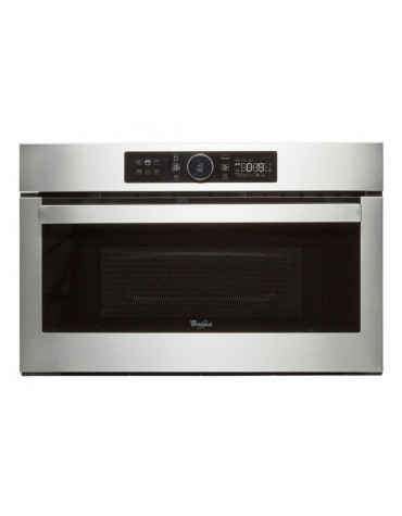 whirlpool Micro-ondes encastrable 25l 1000w inox whirlpool