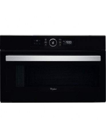 whirlpool Micro-ondes gril encastrable 31l 1000w noir whirlpool