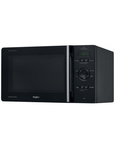 whirlpool Micro-ondes grill 25l 800w noir whirlpool