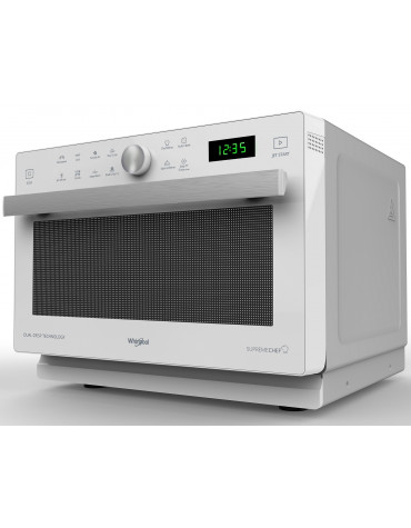 whirlpool Micro-ondes grill et chaleur pulsée 33l 900w blanc whirlpool