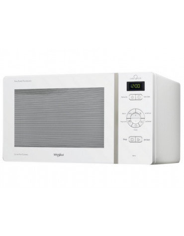 whirlpool Micro-ondes solo 25l 800w blanc whirlpool