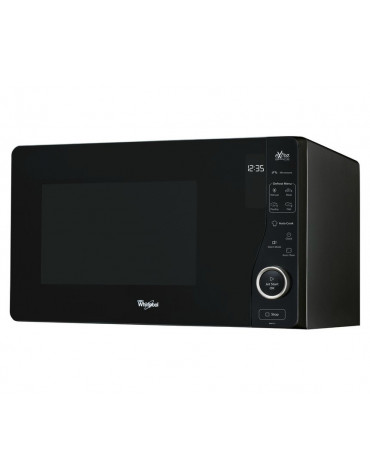 whirlpool Micro-ondes solo 25l 800w noir whirlpool