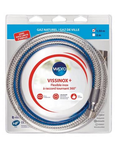 wpro Flexible gaz inox 1.5cm wpro