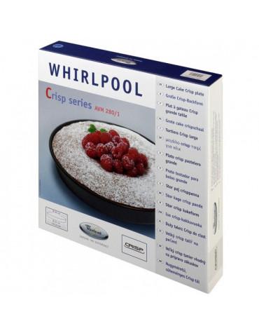 wpro Moule familial 28cm anti-adhésif pour micro-ondes crisp wpro