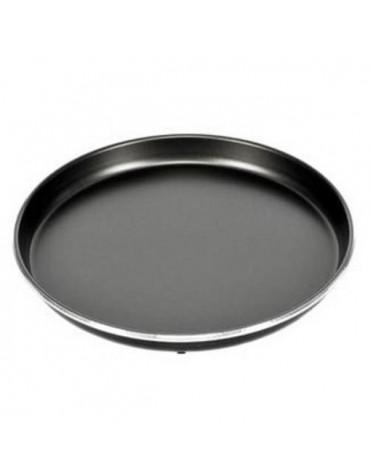 wpro Plat à tarte 32cm anti-adhésif pour micro-ondes crisp wpro
