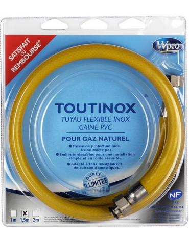 wpro Tuyaux de gaz butane/propane illimitée 1m50 wpro